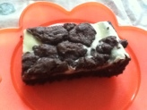 Brownie Cheesecake slices- Hummingbird Bakery